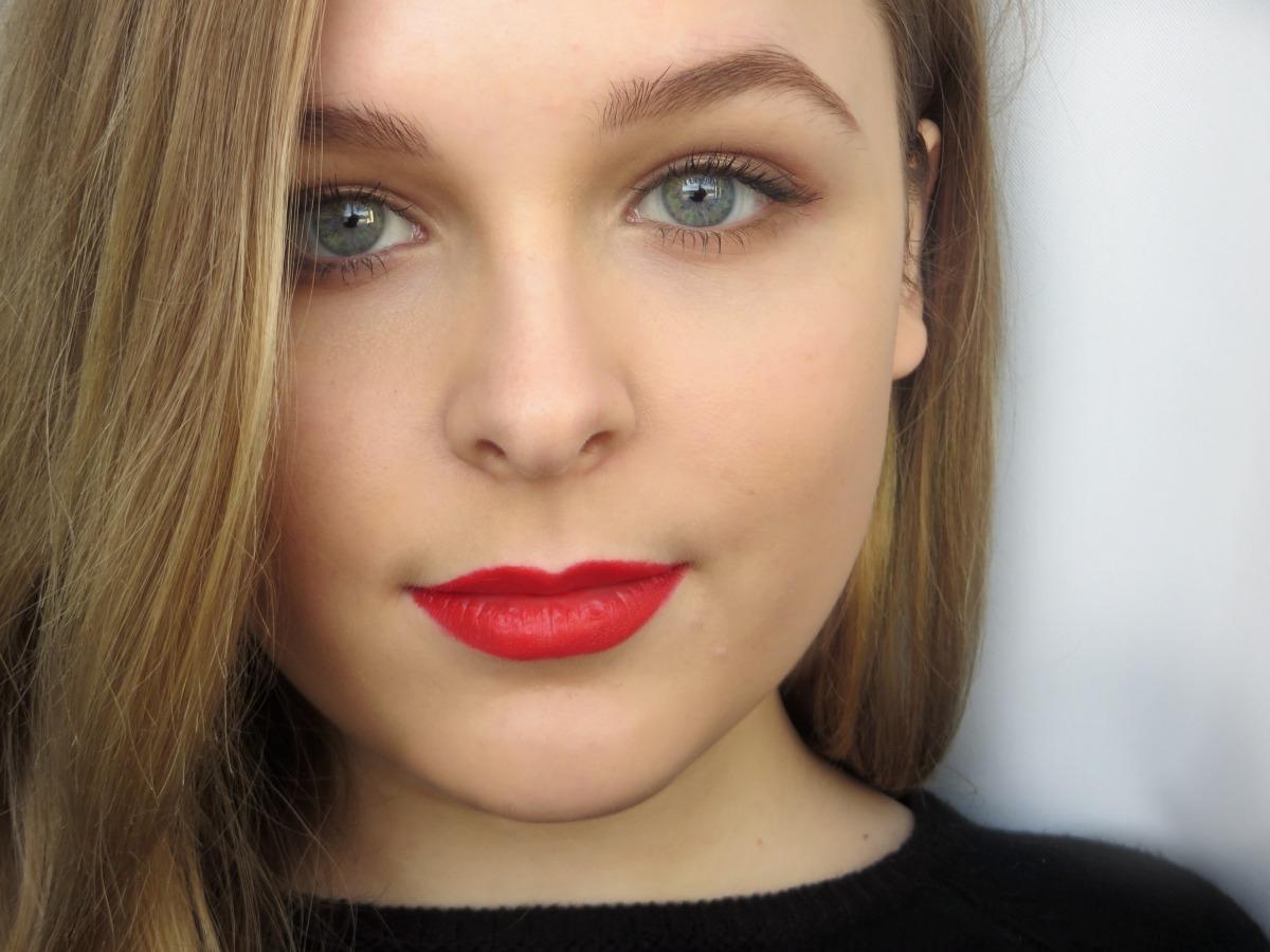 Spring Trend Poppy Red Lips